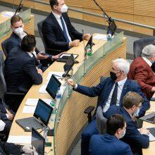 """""""Valstiečiai"""" pretenduoja į vadovaujamas pareigas 7 Seimo komitetuose"""