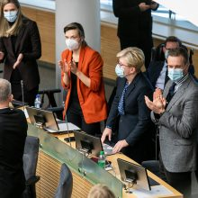 Politologai: balsavimas dėl I. Šimonytės rodo, kad valdantiesiems reiks ieškoti paramos