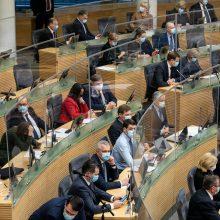 Prieš pirmąjį Seimo nuotolinį posėdį – generalinė repeticija