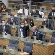 V. Čmilytė-Nielsen: Seimas nebeturėtų grįžti prie nuotolinio darbo