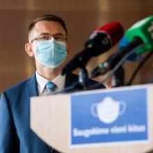A. Dulkys: Ekstremalių situacijų komisija Vyriausybei siūlys nebetęsti karantino