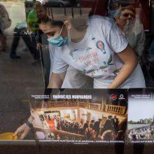 Vilniuje pradeda kursuoti du skiepų autobusai: skiepą atveš į kiemą