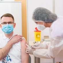 "A. Dulkys skiepijosi ""AstraZeneca"" vakcina: tik bakst ir viskas!"