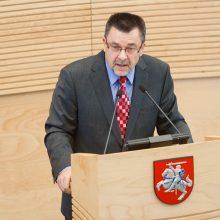 Seime pasigirdo kalbos apie parlamento paleidimą