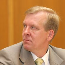 Teisėsaugos tyrime įtariamas V. Domarkas sustabdė narystę Socialdemokatų partijoje
