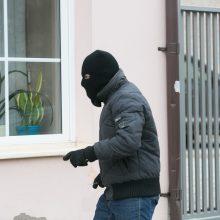 Seifą su 19 tūkst. eurų pavogęs vyras – jau areštinėje