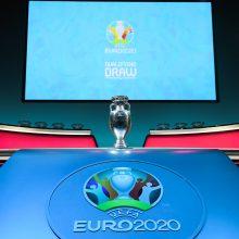 Lietuvos futbolininkams teks kautis su Europos čempione Portugalija