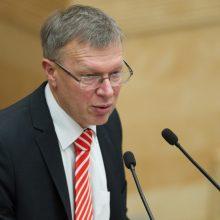 Kriminalinės žvalgybos kontrolės komisijai vadovaus K. Masiulis