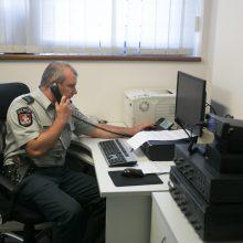 Atidaromas naujasis Vilniaus policijos areštinės pastatas