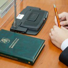 Konstitucijos egzaminą šiemet laikė beveik 17 tūkst. žmonių