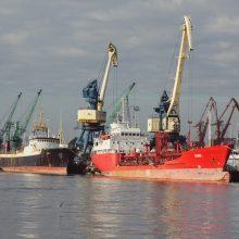Kelia nerimą Baltarusijos įtaka Klaipėdos uoste