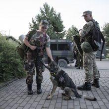 Saugoti sieną su Baltarusija metamos papildomos kariuomenės pajėgos