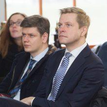 Iš pareigų traukiasi Vilniaus mero atstovas spaudai