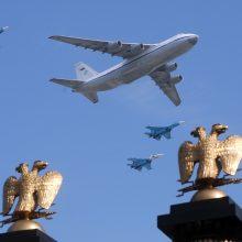 NATO naikintuvai penkis kartus kilo lydėti Rusijos orlaivių