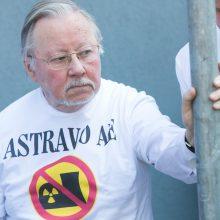 Dėl Astravo V. Landsbergis kreipėsi į VGT: slapukavimai lemia nelaimes