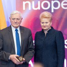 Palankaus vertinimo reitingas: lyderiauja V. Adamkus ir D. Grybauskaitė