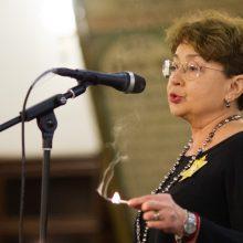 Lietuvos žydų bendruomenės pirmininkė Faina Kukliansky