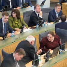 Bandymas įteisinti baudas už tyrimų komisijų reikalavimų nevykdymą patyrė fiasko