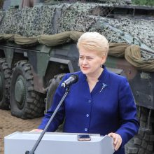 Tarp galimų kandidatų į NATO vadovus – ir D. Grybauskaitė