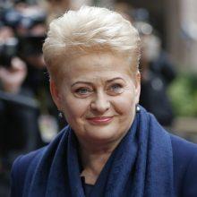 Prezidentė dalyvaus Latvijos 100-mečio iškilmėse Rygoje