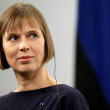 Estijos prezidentė atsisakė balotiruotis į EBPO generalinius sekretorius