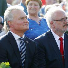 G. Nausėda Rygoje susitinka su Baltijos šalių vadovais
