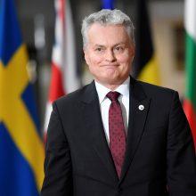 Apžvalga: G. Nausėda atvyko vizito į Briuselį: trys svarbiausios temos