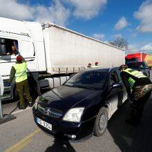 Atidarius sieną srautai tarp Lietuvos ir Latvijos išaugo smarkiai