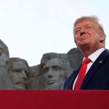 D. Trumpas: JAV yra teisingiausia šalis, kada nors egzistavusi Žemėje