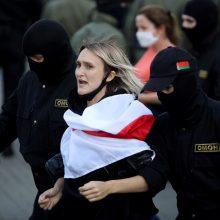 Nerimstant protestams į Lietuvą leista atvykti 262 baltarusiams, atvyko – 69