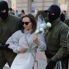 Baltarusijos VRM: šeštadienį įvyko 10 protesto akcijų, sulaikyta 150 žmonių
