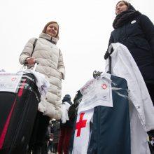 Jaunieji medikai Vilniuje rengia eitynes, parengė deklaraciją valdžiai