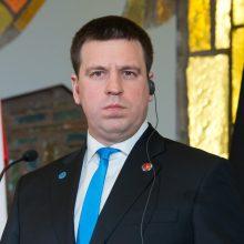 Atsistatydinantis J. Ratas: dabartinė Estijos valdančioji koalicija nebeišliks