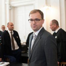 Dėl korupcijos teisiamas V. Gapšys gavo leidimą daryti bylos kopijas
