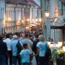 Turistų Vilniuje gausėja dvigubai sparčiau nei pernai