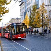 Sekmadienį sostinės viešasis transportas veš nemokamai