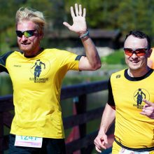 Į bėgimą Trakuose – su organų donorystės idėja