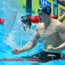 Plaukikas D. Rapšys Vengrijoje iškovojo antrąjį aukso medalį!