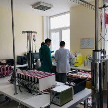 A. Veryga ne tik pristatė naują Kraujo centro vadovą, bet ir pats davė kraujo