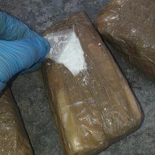 Vilniaus policija sulaikė 0,5 mln. eurų vertės narkotikų kontrabandą iš Latvijos