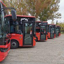 Į Vilniaus gatves išrieda 10 naujų ekonomiškų autobusų