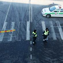 Vilniuje pėsčiųjų perėjoje partrenkta moteris