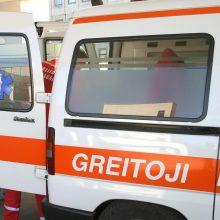 Panevėžyje susidūrus dviem automobiliams nukentėjo vyras ir moteris