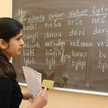 Padidintos išmokos lietuvių kalbos mokytojams užsienyje