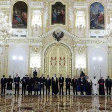 Lietuvos ambasadorius įteikė skiriamuosius raštus Rusijos prezidentui