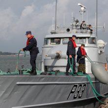 """Lietuvos laivai """"Skalvis"""" ir """"Aukštaitis"""" dalyvaus tarptautinėse pratybose"""