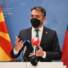 G. Landsbergis: Lietuva remia Šiaurės Makedonijos integraciją į ES