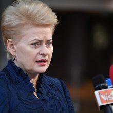 Prezidentė D. Grybauskaitė pasirašė 2019 metų biudžetą