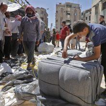 Rusija ragina pradėti tarptautinę Sirijos atkūrimo programą