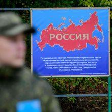 Lietuvos ginklų kontrolės inspektorius tikrina brigadą Rusijoje